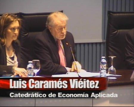 Inauguración das Xornadas sobre crise e reestruturación financeira